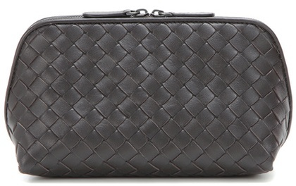 Bottega Veneta Bottega Veneta Intrecciato leather cosmetic case
