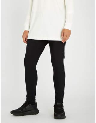Magic Stick Side-stripe jersey jogging bottoms