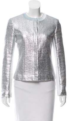 Iceberg Metallic Long Sleeve Jacket