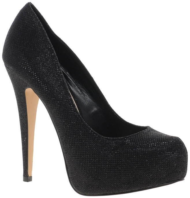 Carvela Katie Sparkle Mesh Heeled Shoe