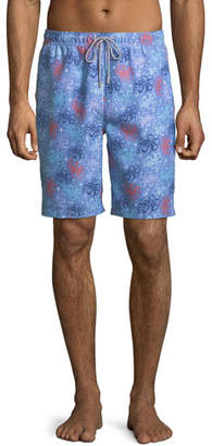 Peter Millar Men's Sea Monsters Swim Trunks