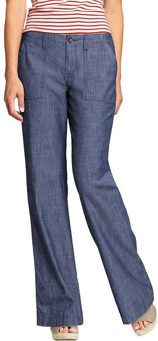 Women's Chambray Trousers