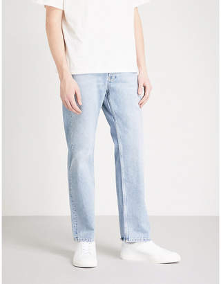 Sandro Regular-fit faded stretch-denim jeans