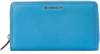 Givenchy Blue Large Zip-Around Wallet