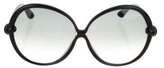 Tom Ford Nicole Oversize Sunglasses