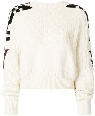 Isabel Marant Laytonn origami sleeve sweater
