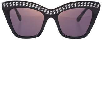 27512f4b5e96 Stella McCartney Crystal Embellished Sunglasses