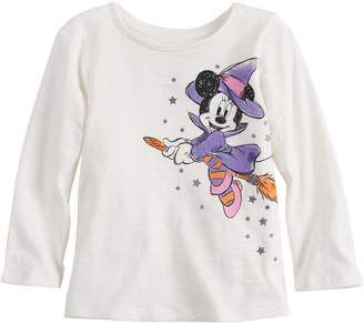 Disneyjumping Beans Disney's Minnie Mouse Witch Baby Girl Graphic Halloween Tee by Jumping Beans