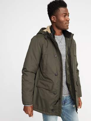 Old Navy 3-in-1 Water-Resistant Hooded Parka for Men