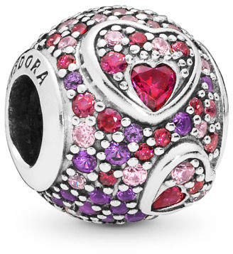 e5e327e47 Pandora Asymmetric Hearts of Love Charm