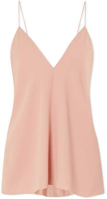 Theory Draped Crepe Camisole - Antique rose