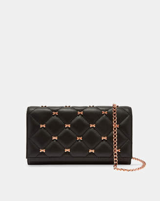 CAMBRE Quilted leather cross body matinee purse