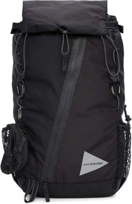 and Wander Black Convertible 30L Front Pouch Backpack