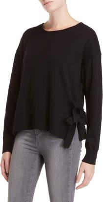 SONO Ci Side Tie Long Sleeve Sweater
