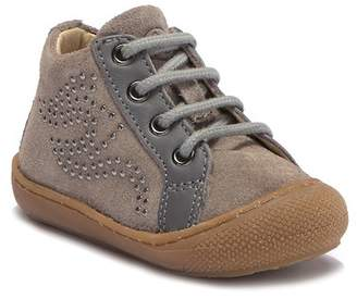 Naturino 4675 Studded Suede Mid Sneaker (Baby & Toddler)