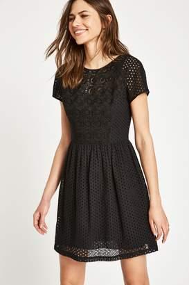 Jack Wills Dress- Spalding Cotton Broderie