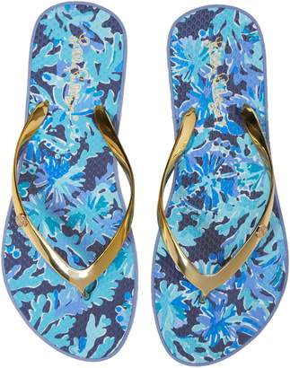 Lilly Pulitzer R) Print Flip Flop