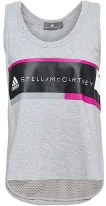 adidas by Stella McCartney Printed Cotton-jersey Tank