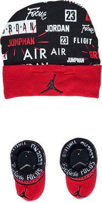 Nike Infant Air Jordan Greatness Hat and Bootie Set