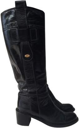 Chloé Black Leather Boots