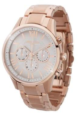 Jorg Gray Women's Quartz Watch with White Dial Analogue Display and Gold Stainless Steel Bracelet JG1500-23