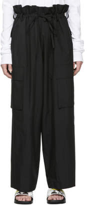 Juun.J Black Cord Trousers