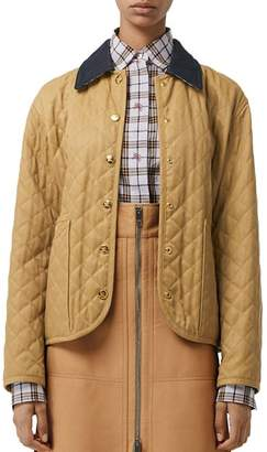 Burberry Heritage Diamond Quilted Jacket