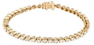 14K Diamond Tennis Bracelet