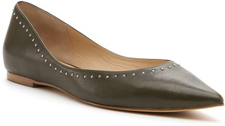 Botkier Aubrey Studded Pointed Toe Flat