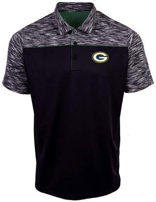 Authentic Nfl Apparel Men's Green Bay Packers Final Play Polo