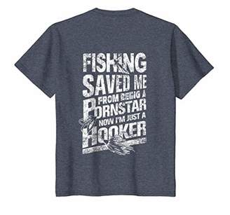 Fishing Saved Me From Being T Shirt