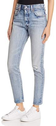 Levi's 501® Skinny Jeans in Summer Dune $148 thestylecure.com