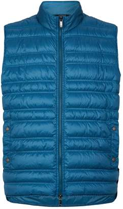 Crinkled Padded Gilet
