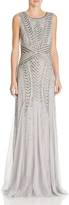 Adrianna Papell Embellished Gown $328 thestylecure.com