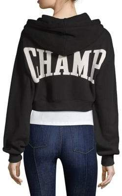 Barron Cropped Hoodie