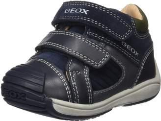 Geox Boy's B Toledo B. B First Walker Shoes, Navy/Military