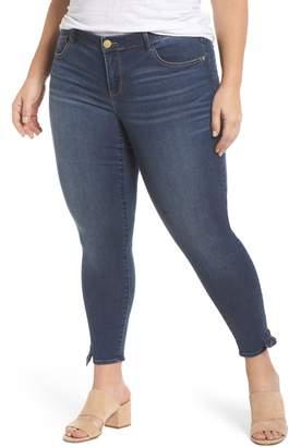 Wit & Wisdom Ab-Solution Tie-Cuff Ankle Skimmer Jeans