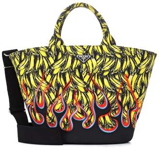Prada Exclusive to Mytheresa – printed canvas tote