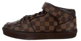 Louis Vuitton Damier Mid-Top Sneakers