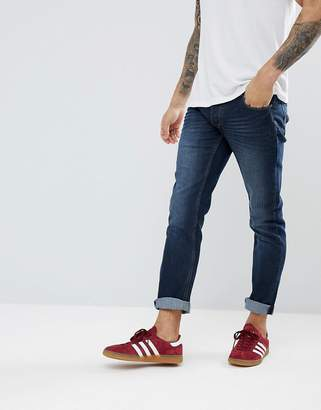 Solid Slim Stretch Jean in Dark Wash