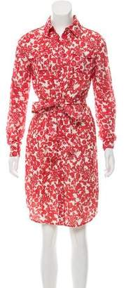 Tory Burch Printed Knee-Length Dress w/ Tags