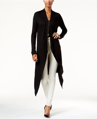 INC International Concepts Asymmetrical Duster Cardigan, Only at Macy's $59.50 thestylecure.com