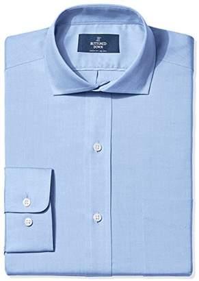Buttoned Down Men's Classic Fit Cutaway-Collar Solid Non-Iron Dress Shirt (No Pocket)