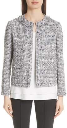 Lafayette 148 New York Kennedy Tweed Jacket
