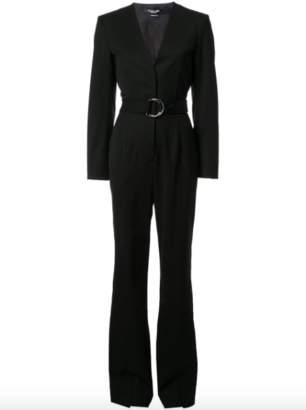 Calvin Klein Belted Tailored Jumpsuit