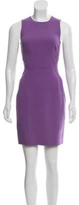 Michael Kors Sleeveless Sheath Dress Purple Sleeveless Sheath Dress