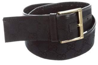 Gucci Guccisima Canvas Belt