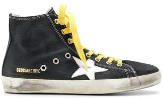 Golden Goose Superstar hi-top sneakers