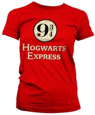 Express Harry Potter Official Women's Hogwarts Platform 9 3/4 Fitted T-Shirt