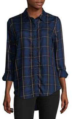 Hi-Lo Button-Down Shirt